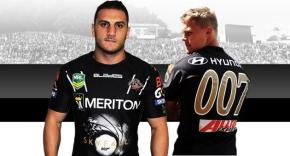 Rugby league hits right note with 'classy' launch of new james bond wests tigers jersey