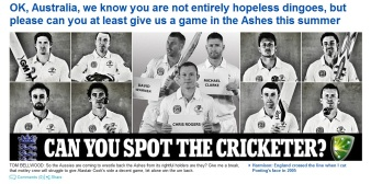 Daily Mail Ashes